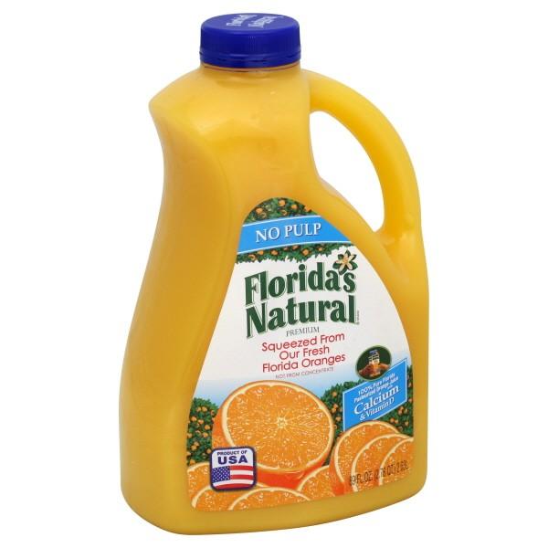 Florida's Natural Premium Orange Juice with Calcium No Pulp